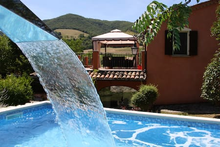 Luxury private villa with pool  6+2 - Acqualagna - Villa