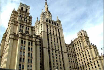 Legendary Stalinist skyscraper!