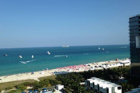 Beautiful Ocean/Beach view Studio!