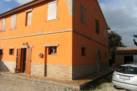 La casa di Gaia country in Marche - Hus