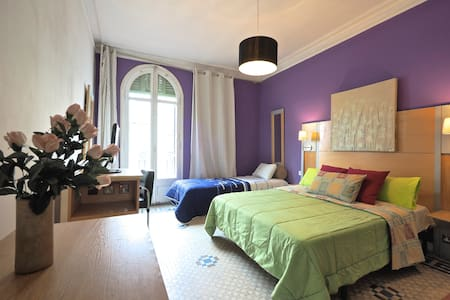 Comfort Triple Room - Barcelona - Appartement