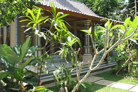 Experience stay in the Balinese village