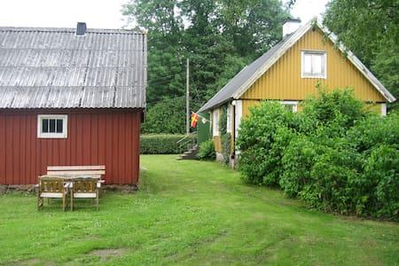Wonderful nature in south of Sweden - Mökki