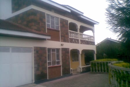 You will have the entire house and compound. Kitchen and laundry are fully equipped. Security is well taken off with high electric fence and a guard. We have a well furnished living room and all the bedrooms are en-suit.