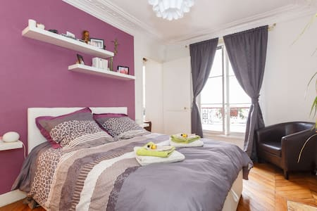 Lovely apartment in Montmartre