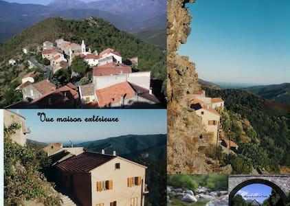 APPART. T3 CENTRE CORSE MER MONTAGN - Altiani - Apartemen