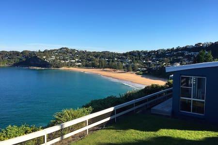 Breathtaking views of Whale Beach - House