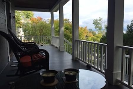 Cozy private apartment with Hudson River views - Piermont - Appartement