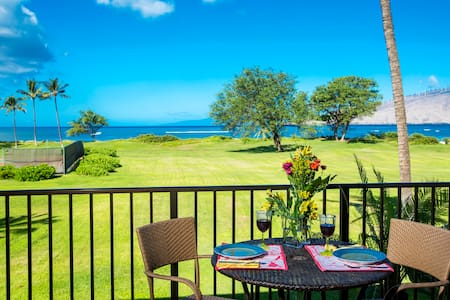 Romantic Private, Direct Oceanfront - Kihei - Lejlighed