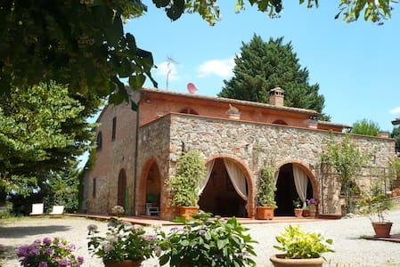 Panoramic farmvilla in Tuscany (9p) - Chiusi - Villa