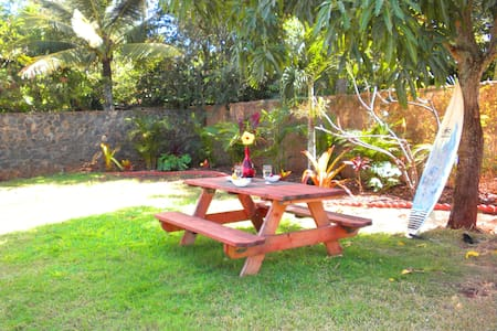 Cute 1BR Aprt. Walk to Paia  Town - Apartment