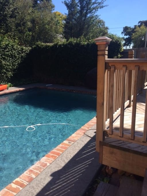 Relaxing Pool and Rear Deck