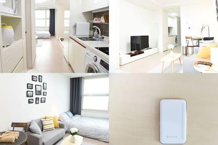 Tidy Studio in Dongdaemun Myeongdong (Free Egg) - Apartment