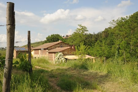 Chianti-Bio-Garden-Kitchenette-Shiatsu-Relax-Rest - Greve in Chianti