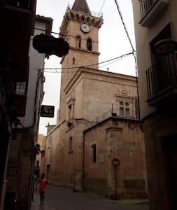 Preciosa casa con encanto en el casco histórico - Villena