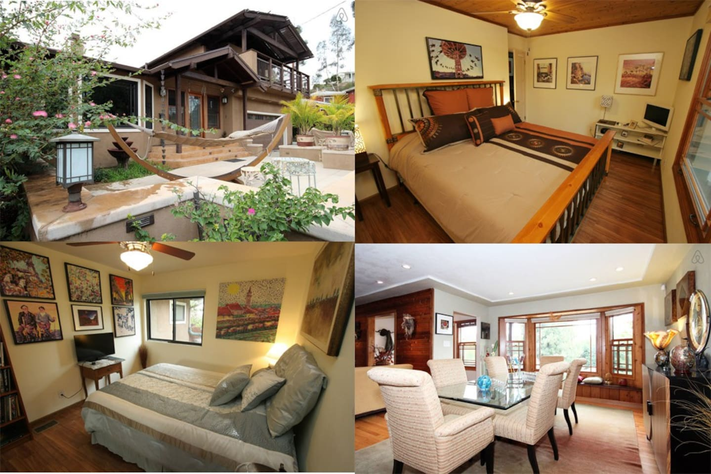 2 private bedrooms and 2 private bathrooms