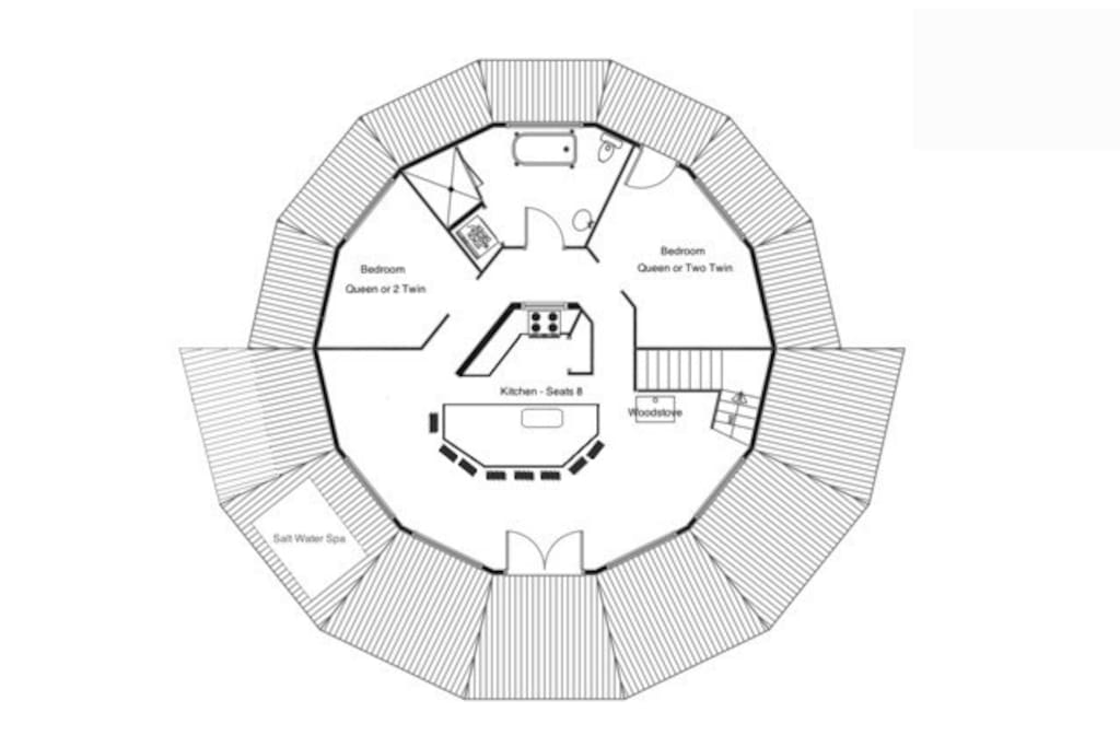 Circular design inside and out!