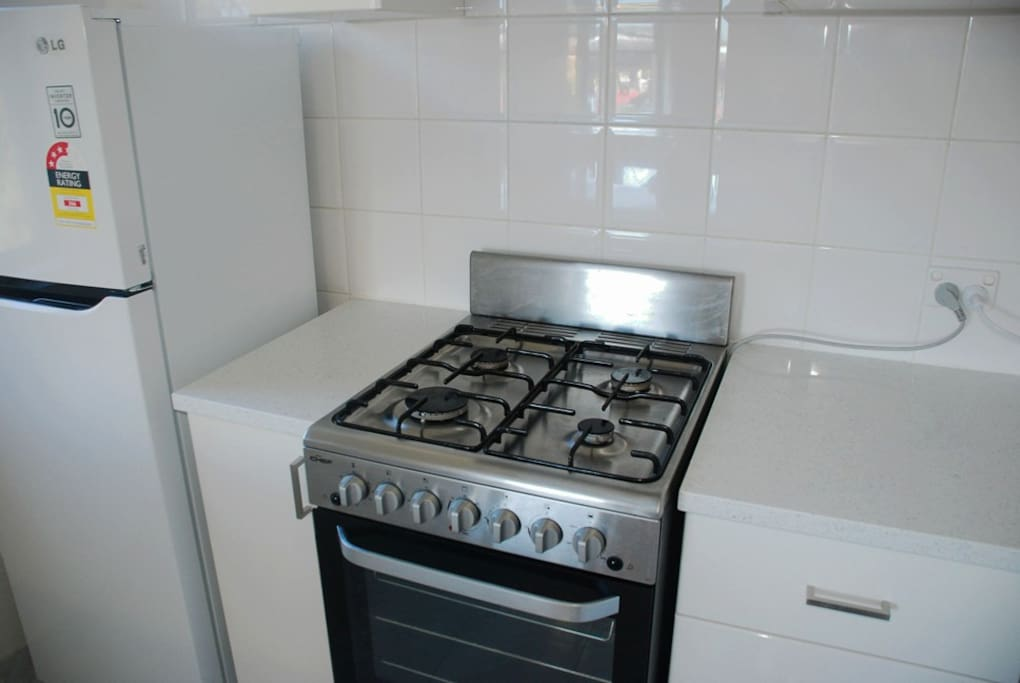 Chef stainless steel cooker with gas cooktop