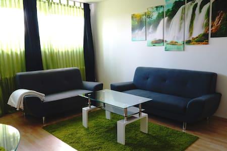 Ruhige und sehr gemütliche Wohnung - Winnenden - Apartament