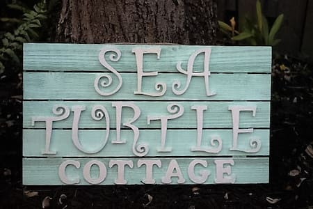 The Sea Turtle Cottage - Bungalow