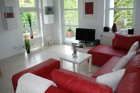 Dat Strandhuus. Moderne Wohnung mit WLAN - Wohnung