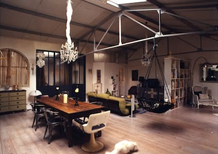 loft of character with a patio - Cachan - Loft