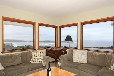 Views! Great Beach House Sleeps 12  Fall Discounts