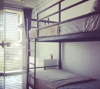 Bunk Bed Room with Balcony (401)
