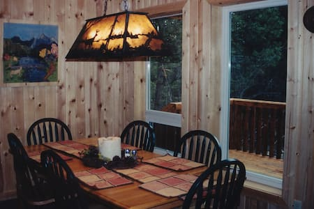 Cabin on Fawn Creek AVAILABLE NOW! - Winthrop - Chalet