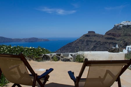 """Envision"" studio, breathtaking sea views!!! - Thira - Haus"