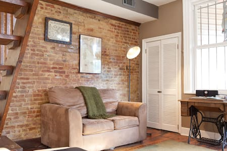 Cozy 1 BR Apt in Historic District - Appartement