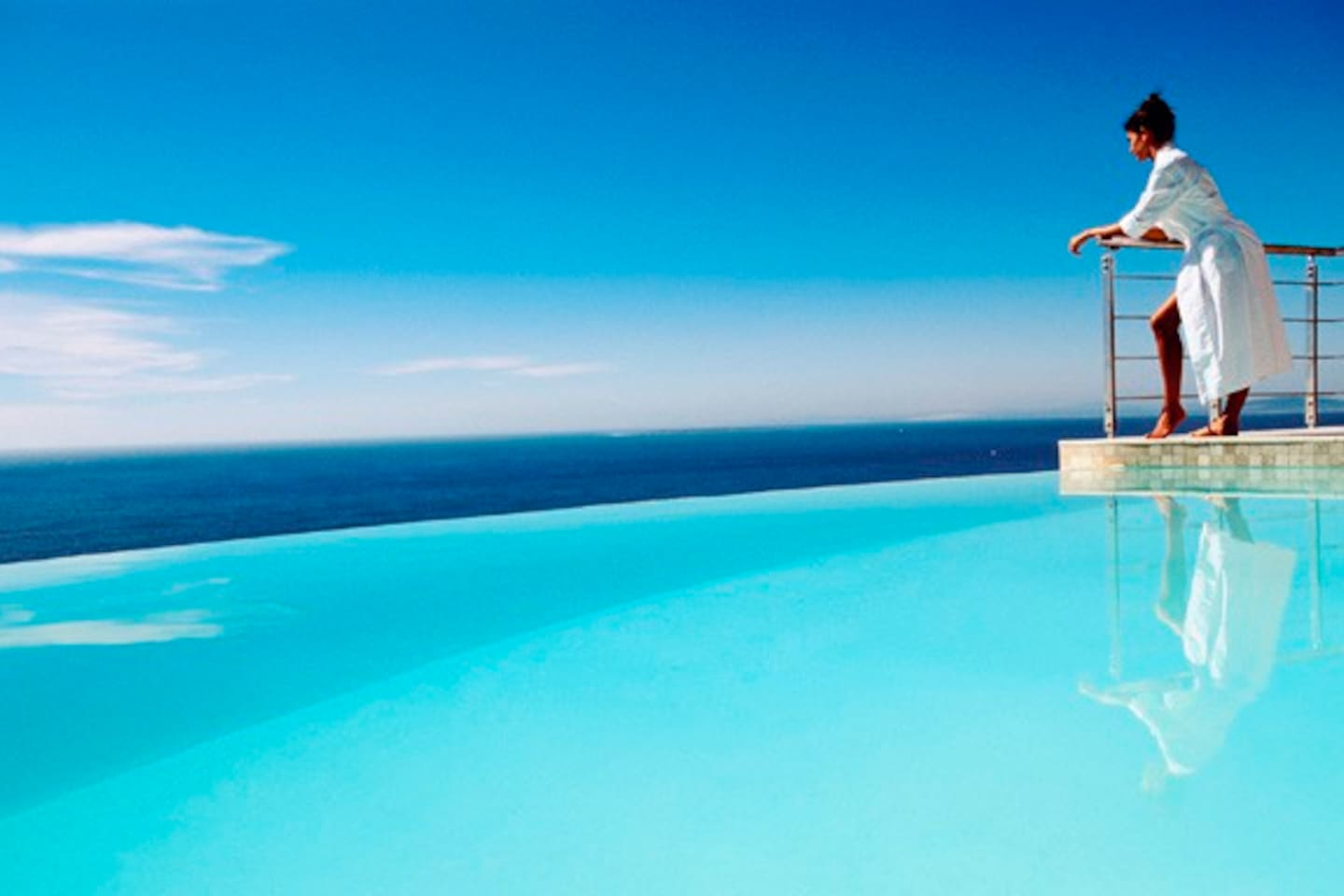 Private Infinity Edge Pool with Oceanviews