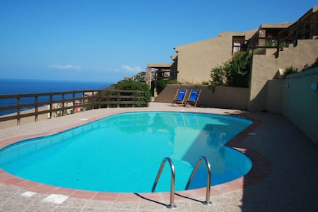 Two bedroom apar, pool and sea view
