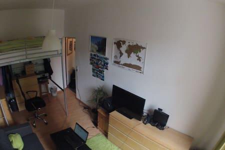 Gemütliche Studentenwohnung Uninähe - Hannover - Appartamento