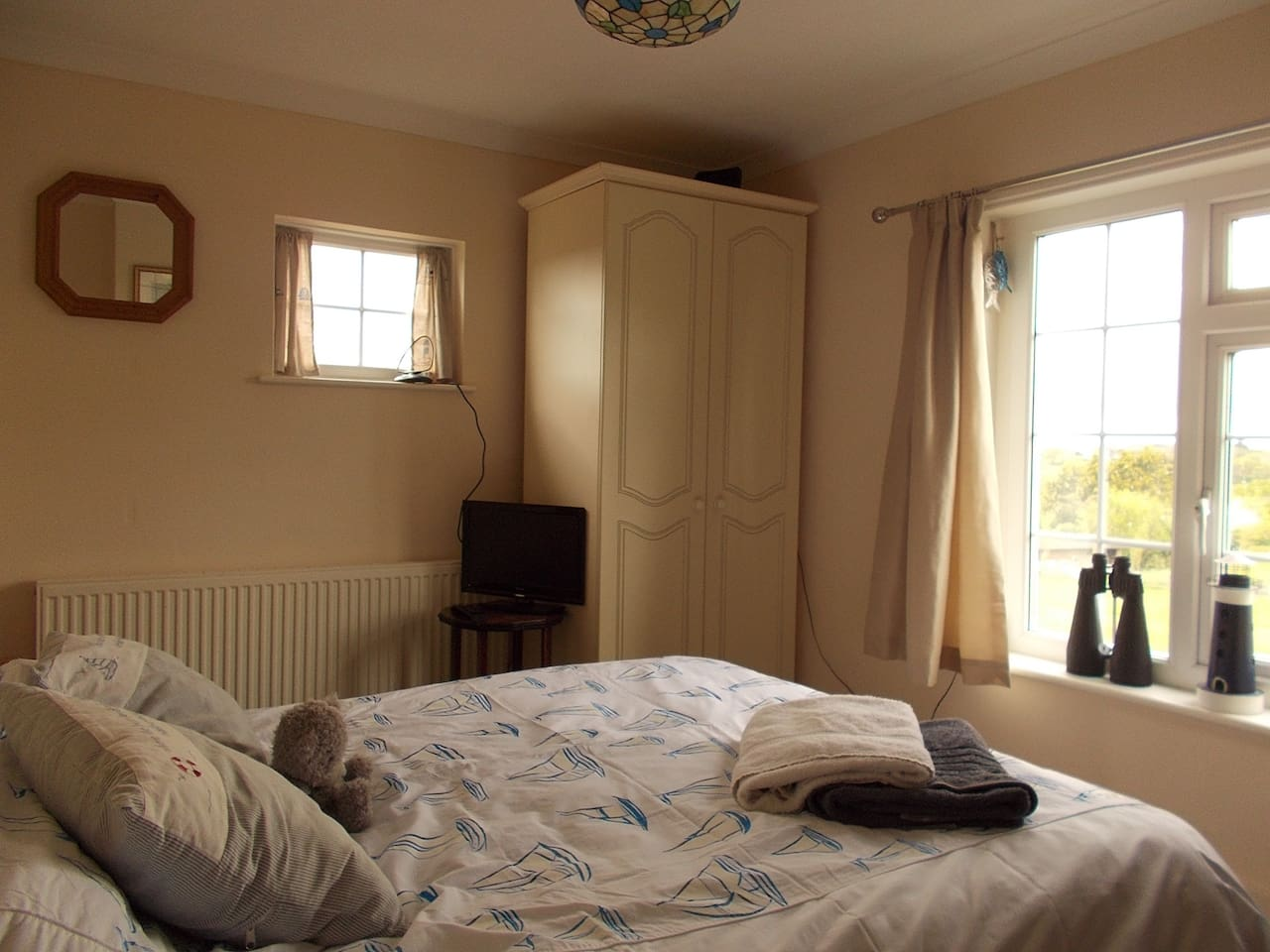 Your Bedroom, bright double aspect, comfy double bed.