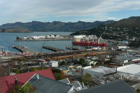 Languish in Lyttelton - Peaceful studio with views - Apartment