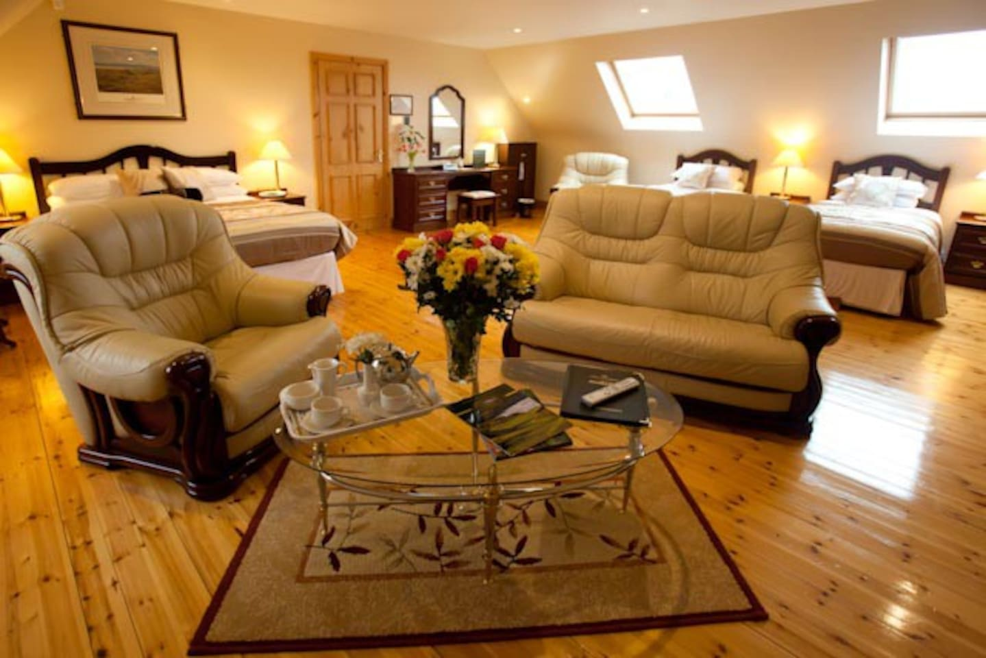 Master Suite Room at Ballybunion Guesthouse