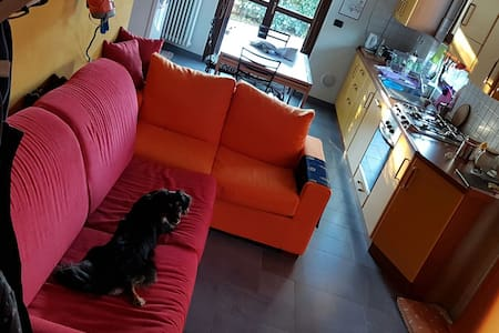 Splendido divanoletto per viandanti - San Michele 5c - Lägenhet