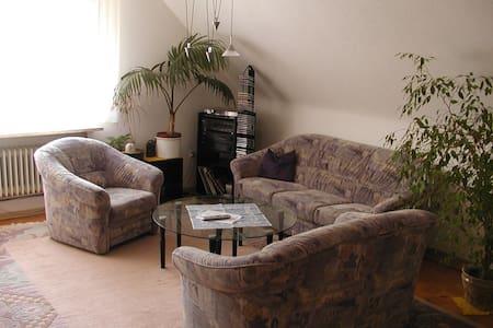 Apartment ohne Küche bis 6 Personen - Ettlingen - Lejlighed