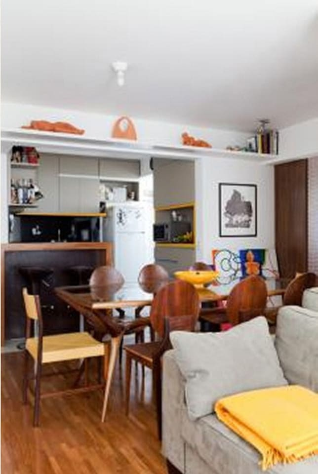 Stylish apartment in Vila Madalena