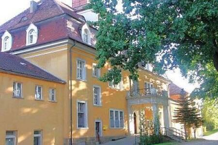 Herrenhaus Goßwitz / Kreis Görlitz  - Reichenbach/Oberlausitz - Castillo