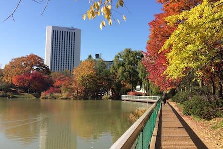 Perfect Location in Sapporo 316 - Apartment