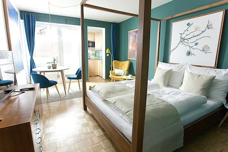 Design Apartment Karlsplatz, Blue - Daire