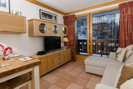 14A 2 Bedroom ski in/out apt - Appartement