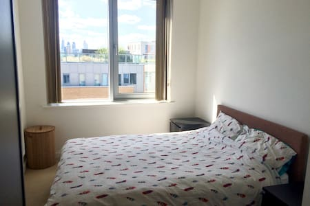 Beautiful double bedroom near Central London - London - Apartment