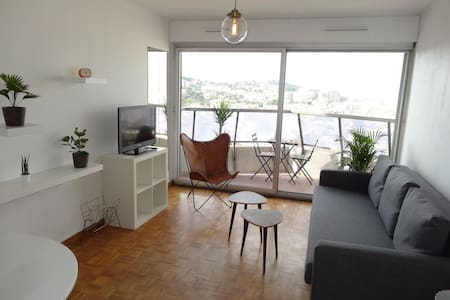 Flat with Stunning View - Center Marseille - Daire