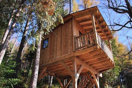 Cabane dans les arbres le Colibri - Wentworth-Nord