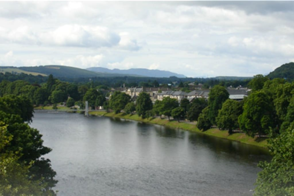 The beautiful river Ness