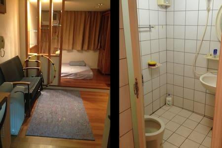 Osim URobic WiFi Double Bed Room 溫馨實惠獨立套房 - East District - Haus