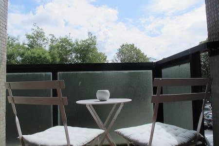 Habitación con baño privado 300m de la playa - Zarautz
